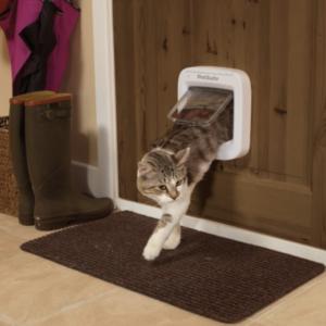 Simplicité pour la chatière électronique PetSafe