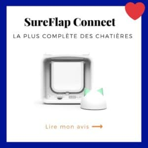 SureFlap Connect est la chatière électronique la plus complète
